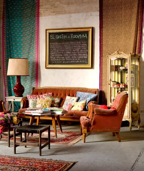 Interior Motives How To Decorate Antique Eclectic Fashion Blog