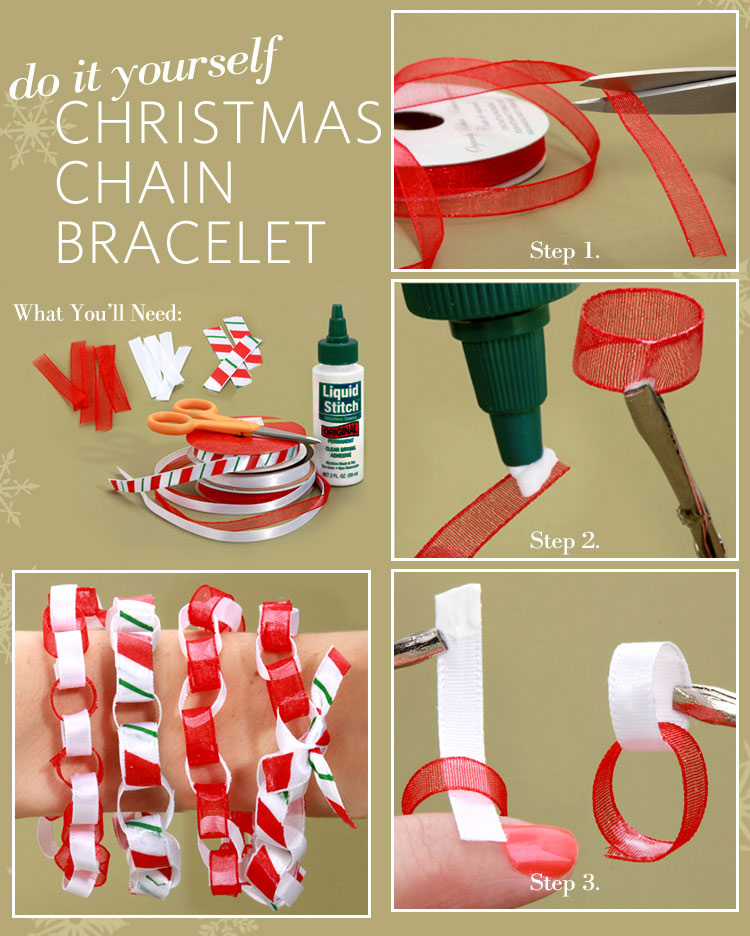 Diy christmas chain bracelet lulus fashion blog diy christmas chain bracelet at lulus solutioingenieria Gallery
