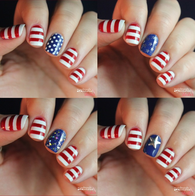 Mani Monday: Fourth of July Nails 4-ways - Lulus.com Fashion Blog