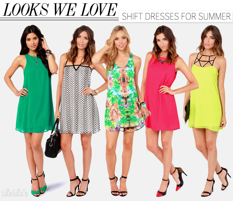 Looks We Love: Shift Dresses for Summer - Lulus.com Fashion Blog
