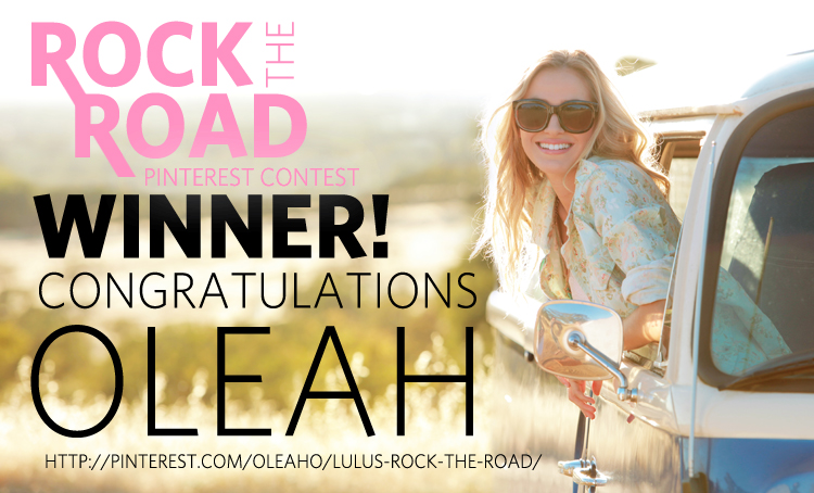 Rock the Road Winner
