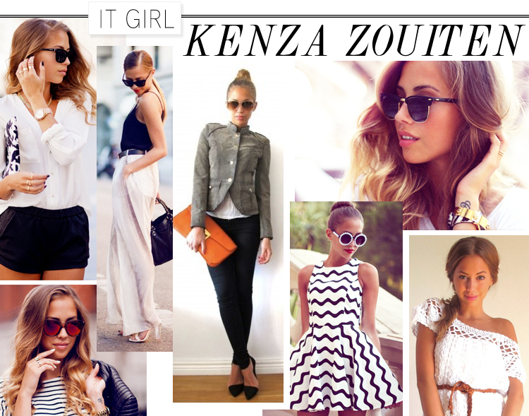 It Girl: Kenza Zouiten at LuLus.com!