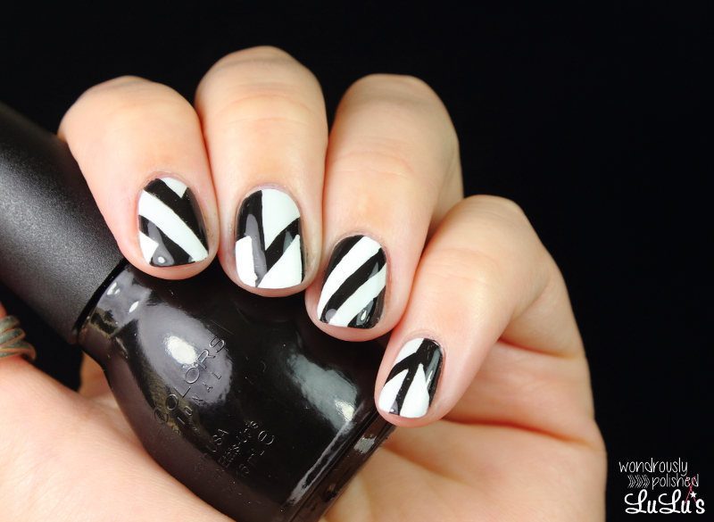 Mani monday geometric nail art lulus fashion blog mani monday geometric nail art at lulus prinsesfo Images