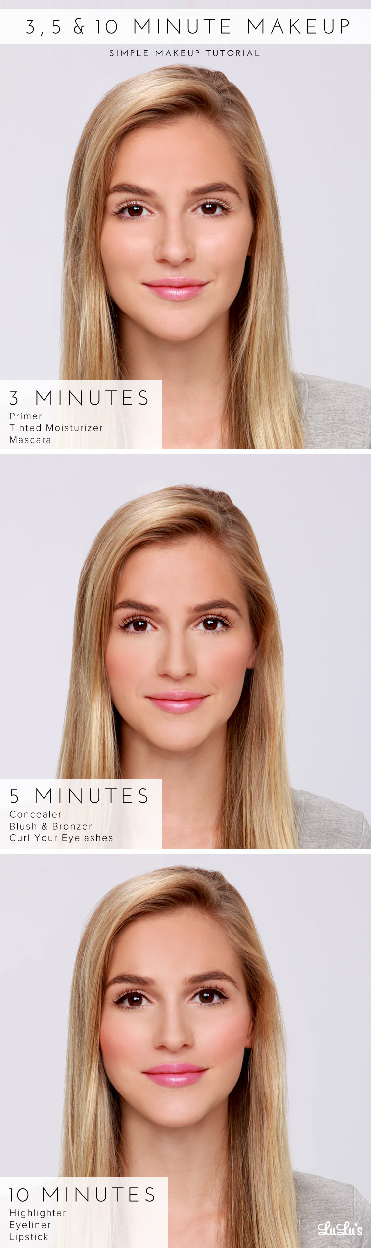 Lulus how to 3 5 10 minute makeup tutorial lulus fashion blog lulus how to 3 5 10 minute makeup tutorial at lulus baditri Gallery