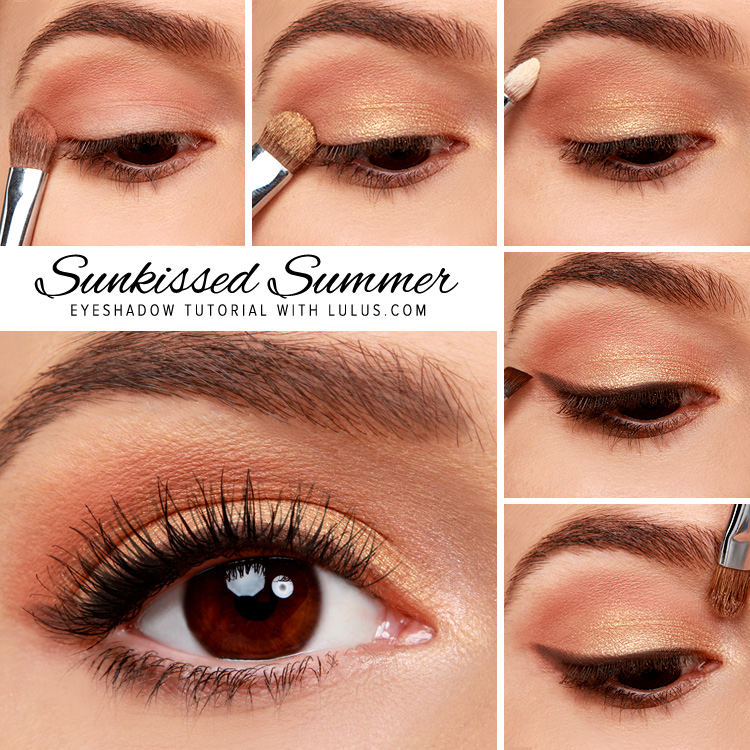 Sunkissed Summer Gold Eyeshadow