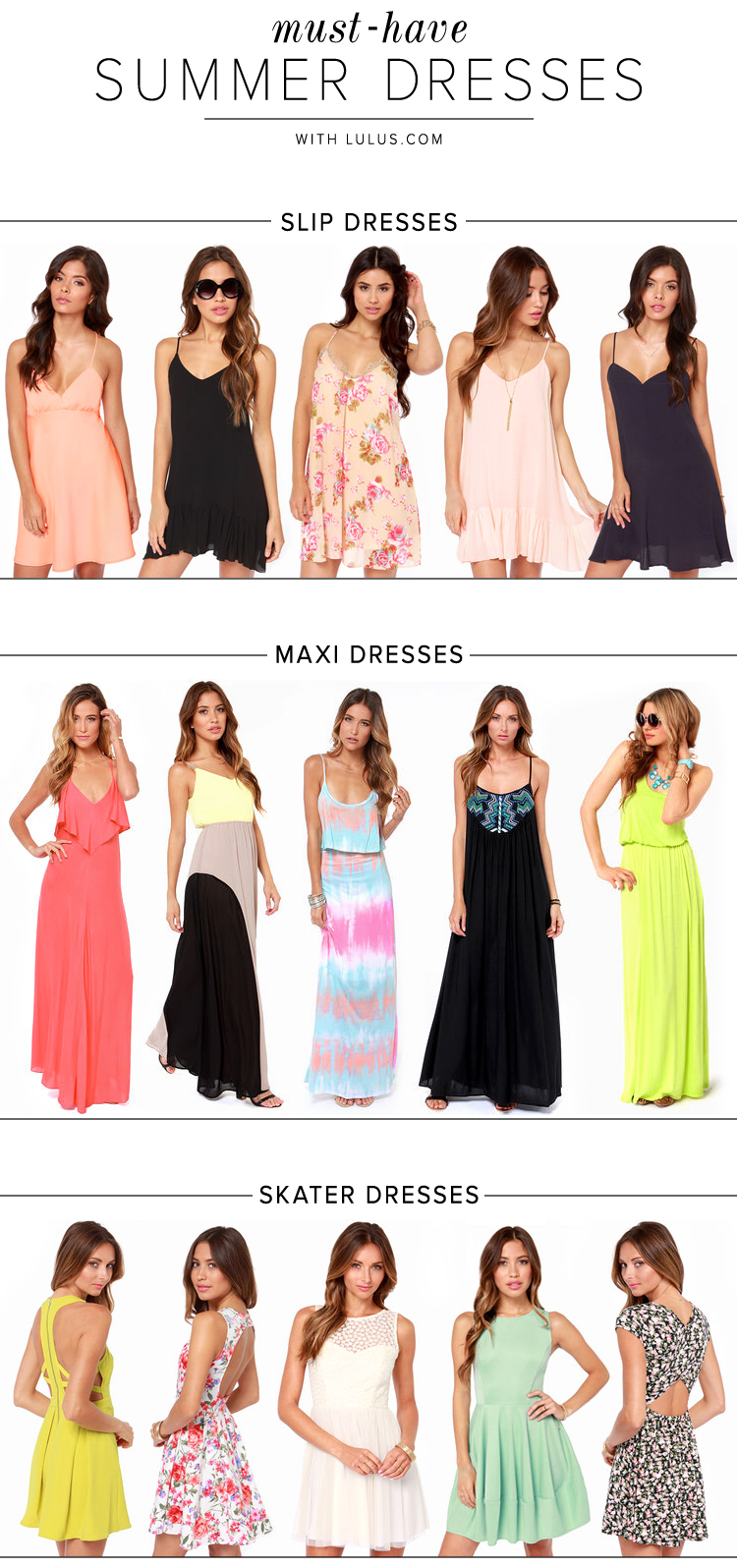summer day dresses
