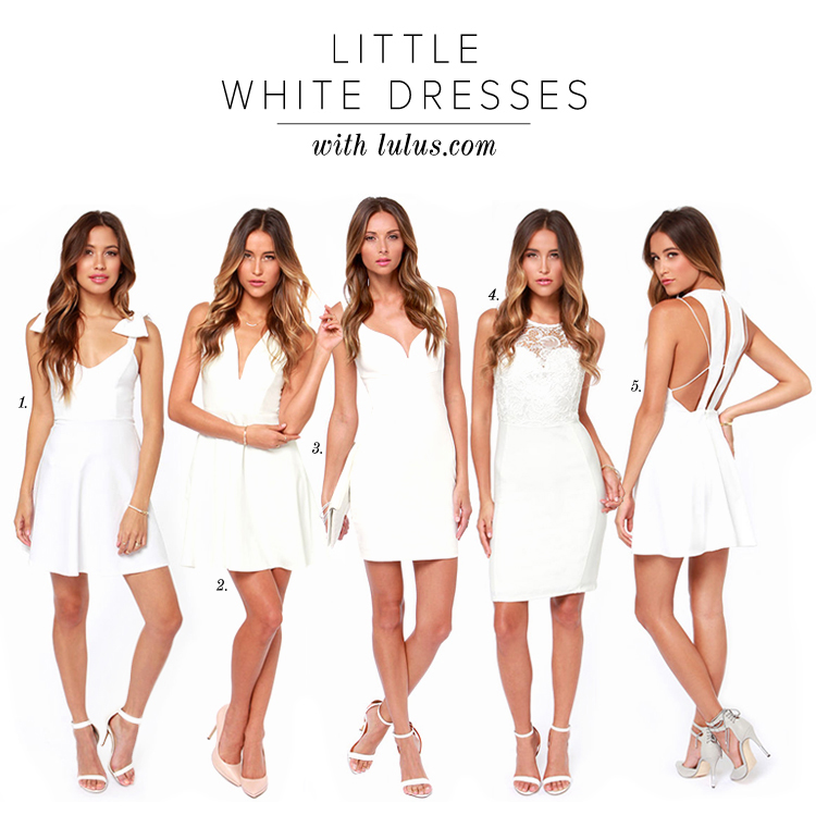 The Little White Dress for Summer 2014 - Lulus.com Fashion Blog