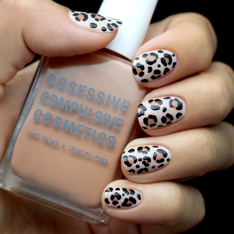 Mani Monday Leopard Print Nail Tutorial Lulus Fashion Blog