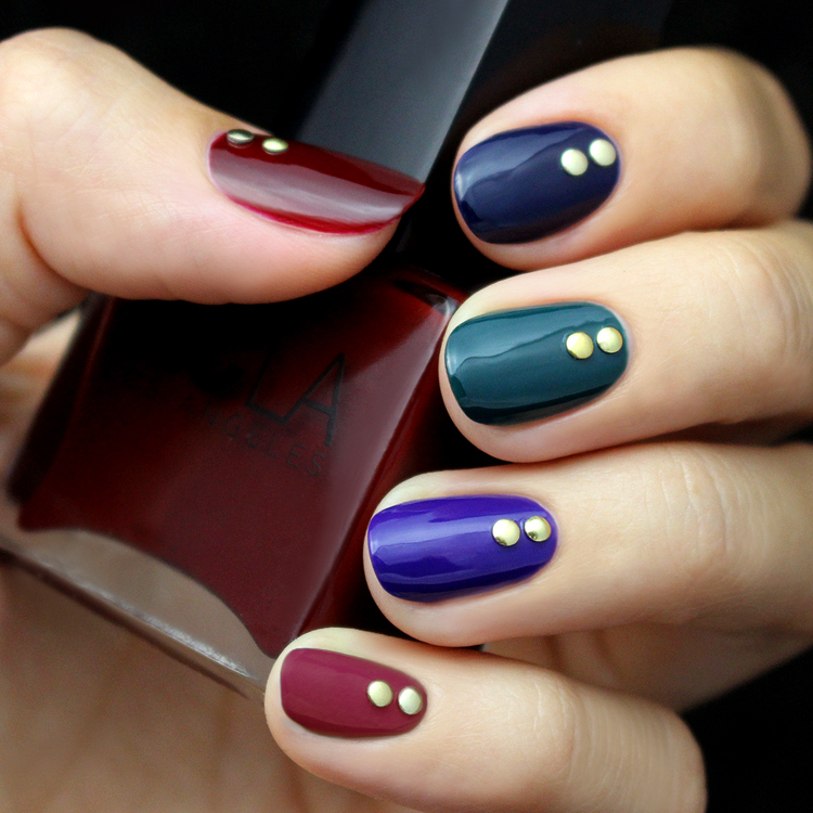 Exelent Nails With Two Colors Photo - Nail Art Ideas - morihati.com