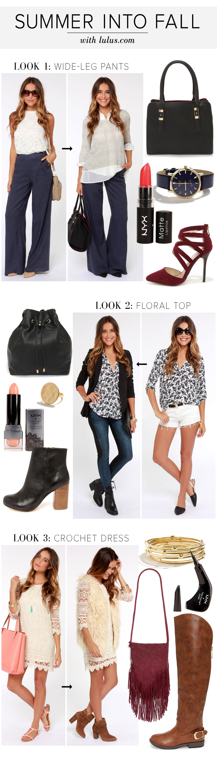 Summer Into Fall Style Guide Fashion Blog