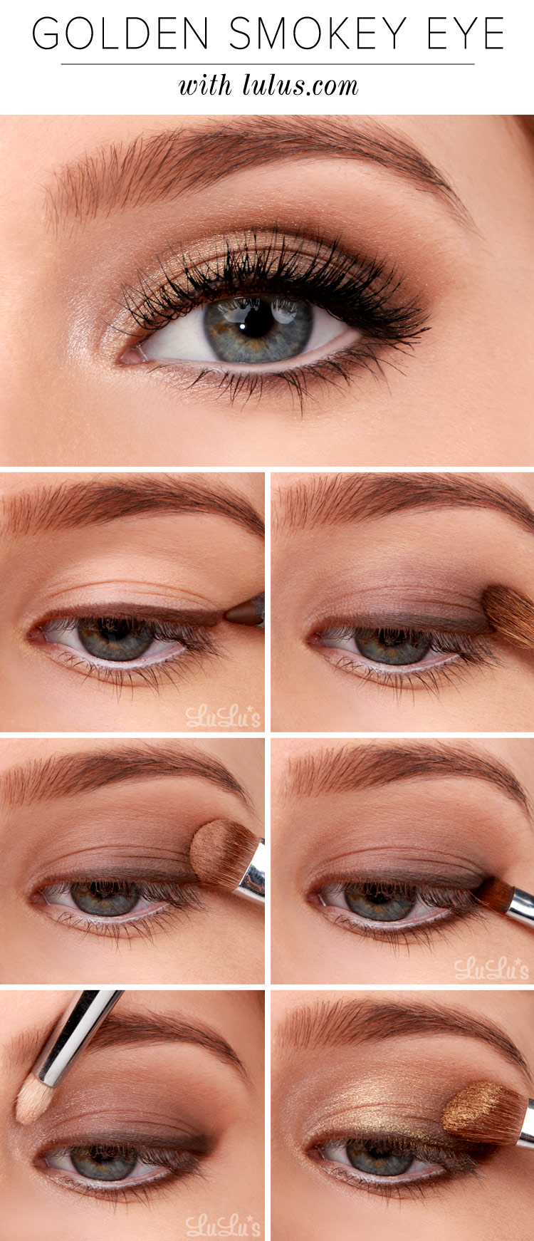 Golden Smokey Eye