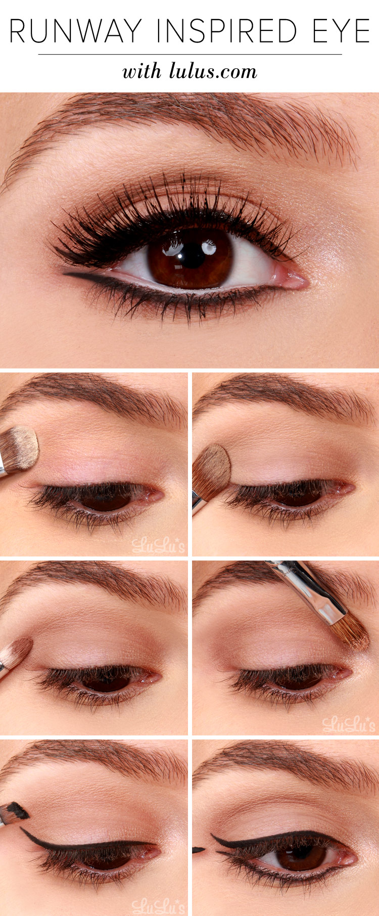 lulus how-to: runway inspired black eyeliner makeup tutorial - lulus