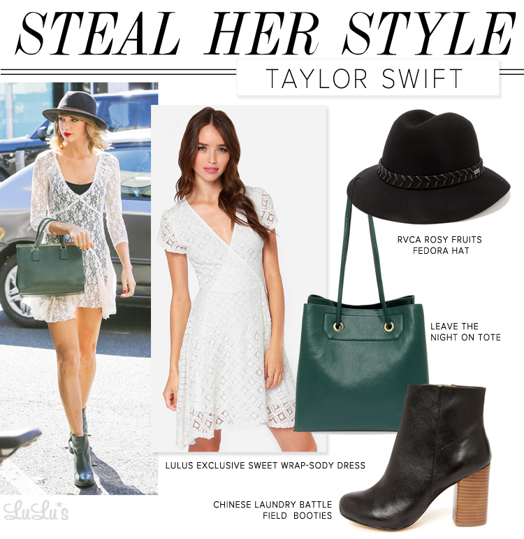Taylor Swift Fashion Lesson: Steal Her Style