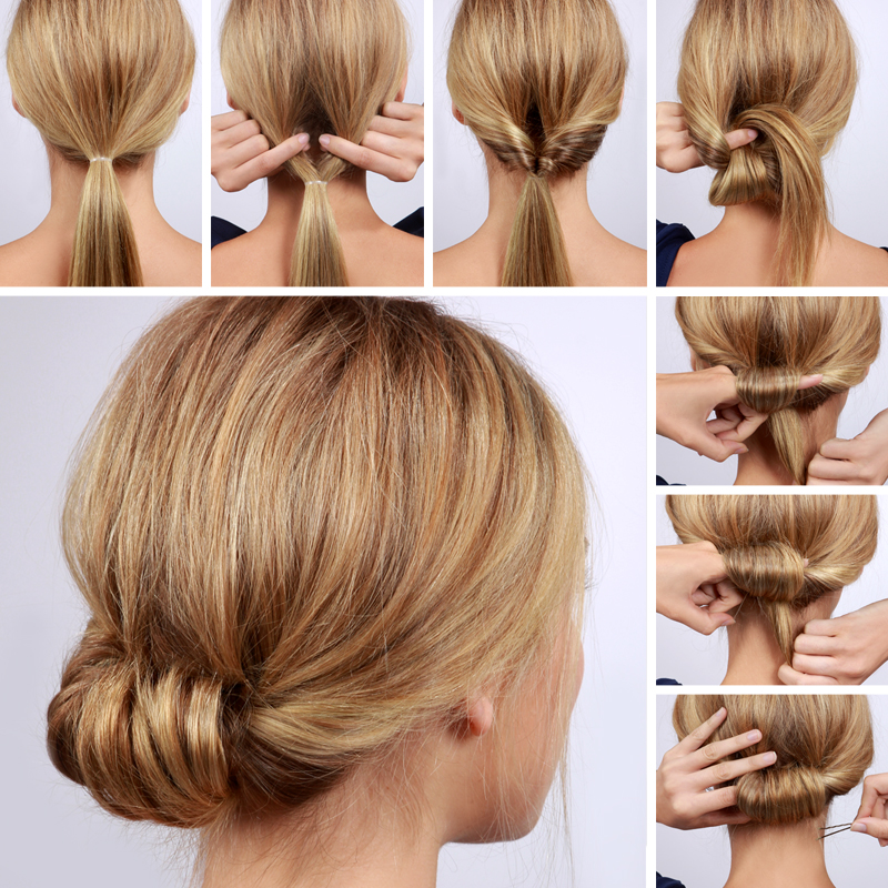 Lulus How-To: Low Rolled Updo Hair Tutorial - Lulus.com Fashion Blog