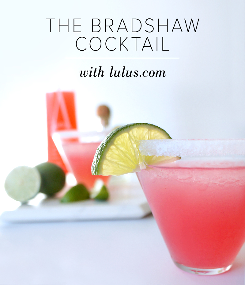 Bradshaw Cocktail