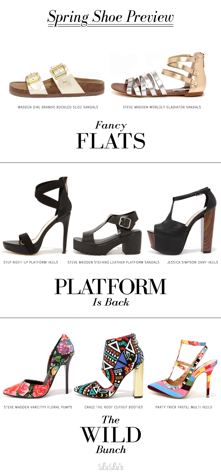 Spring Shoe Preview 2015