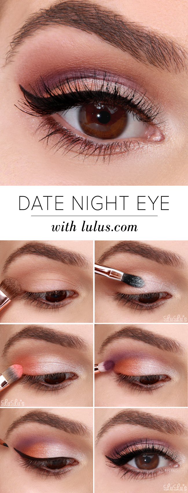 Lulus how to date night eyeshadow tutorial lulus fashion blog lulus how to date night eyeshadow tutorial at lulus baditri Image collections