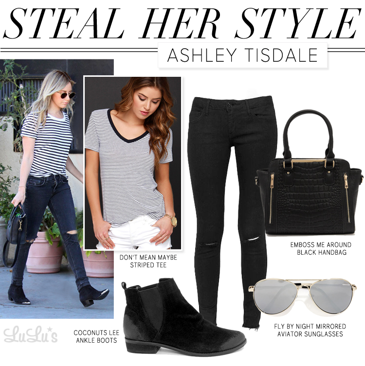Steal Her Style: Steal Her Style: Ashley Tisdale