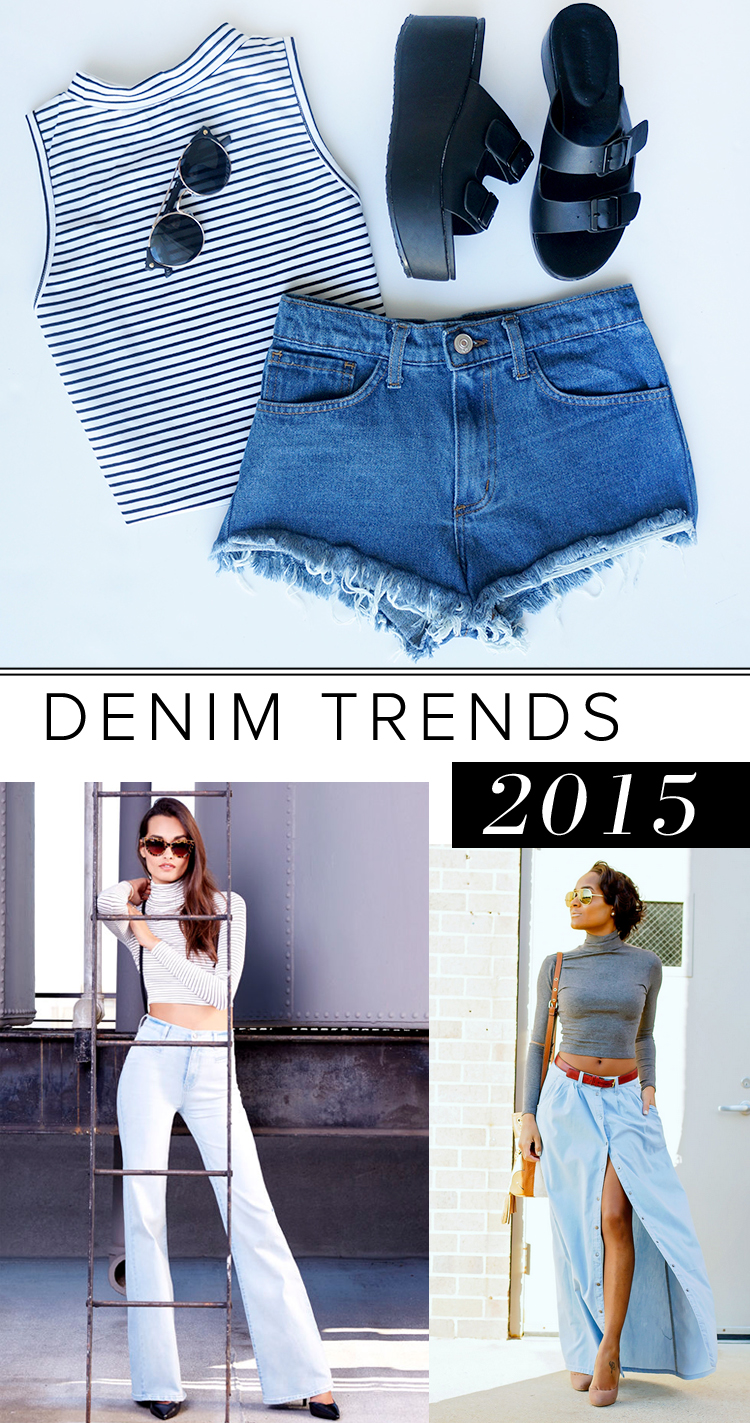 trend alert denim for 2015 fashion blog. Black Bedroom Furniture Sets. Home Design Ideas