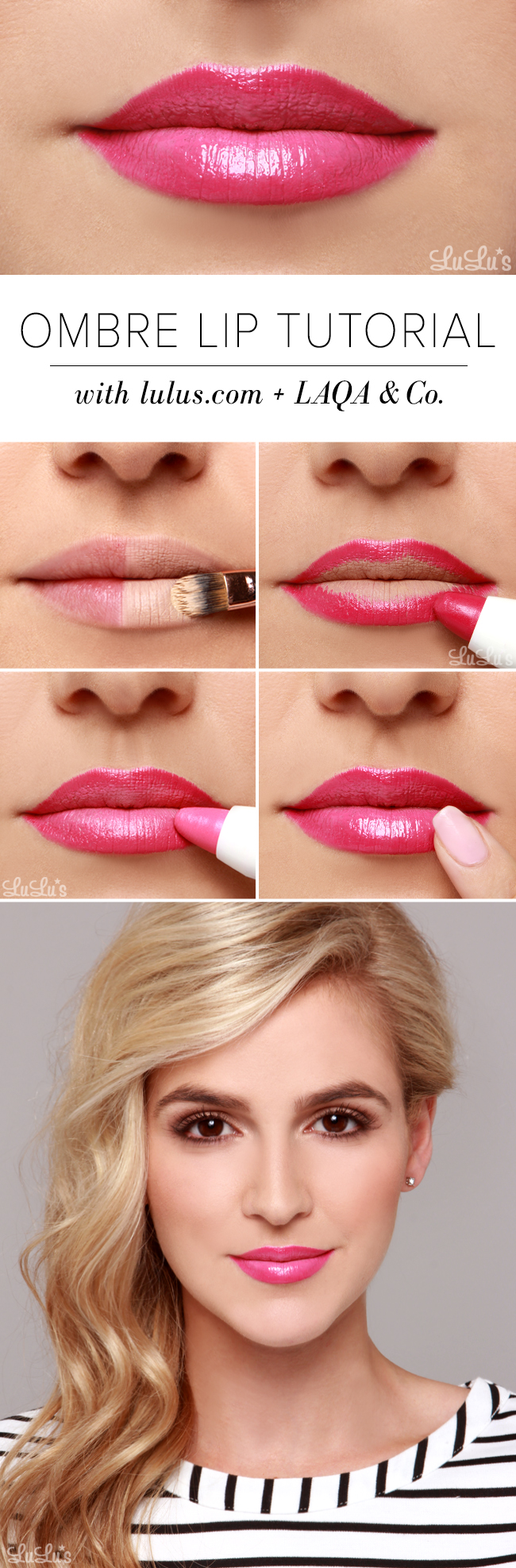 Pink Ombre Lip