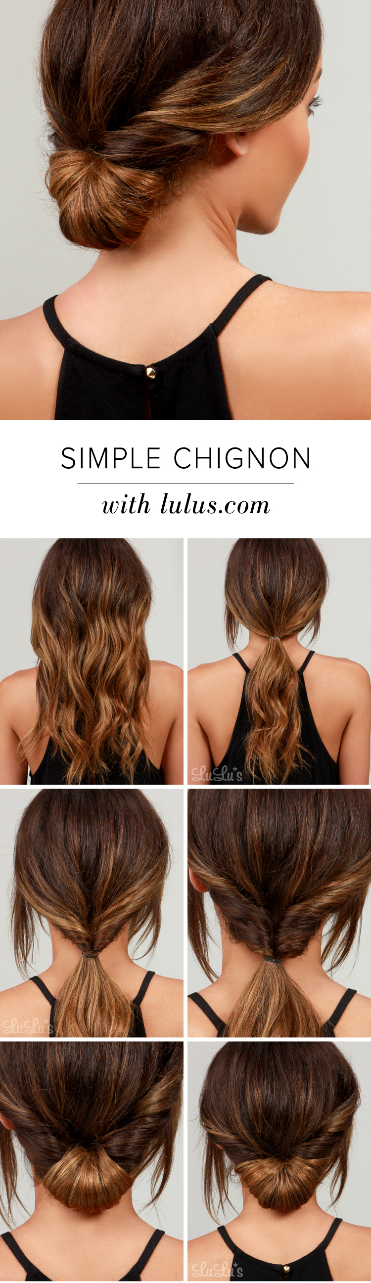 Chignon Hair Tutorial