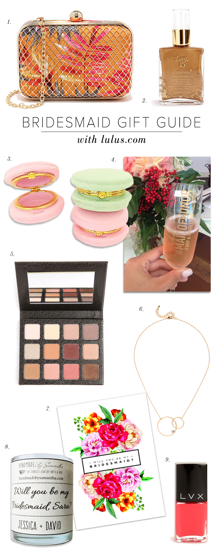 Bridesmaid Gift Guide