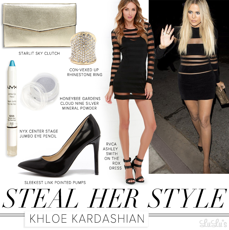 Steal Her Style Khloe Kardashian at LuLus.com!