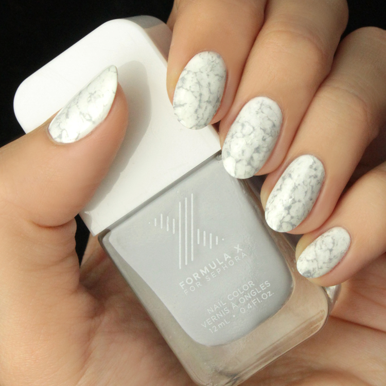 Mani Monday: White Marble Nail Tutorial - Lulus.com Fashion Blog