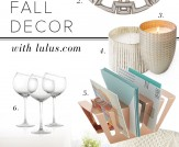 Home Chic Home: Fall Decor Round-Up!