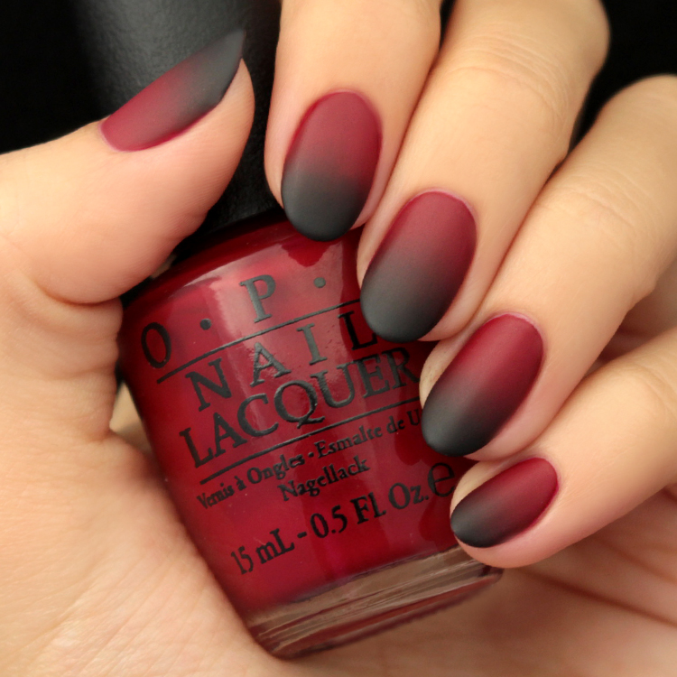 Mani Monday: Black and Red Ombre Nail Tutorial - Lulus.com Fashion Blog