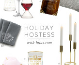 Home Chic Home: Holiday Hostess!