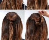 LuLu*s How-To: Half-Up Bun Hair Tutorial