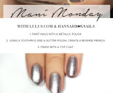 Mani Monday: NCLA Match Made in Cali Sparkle &#038…