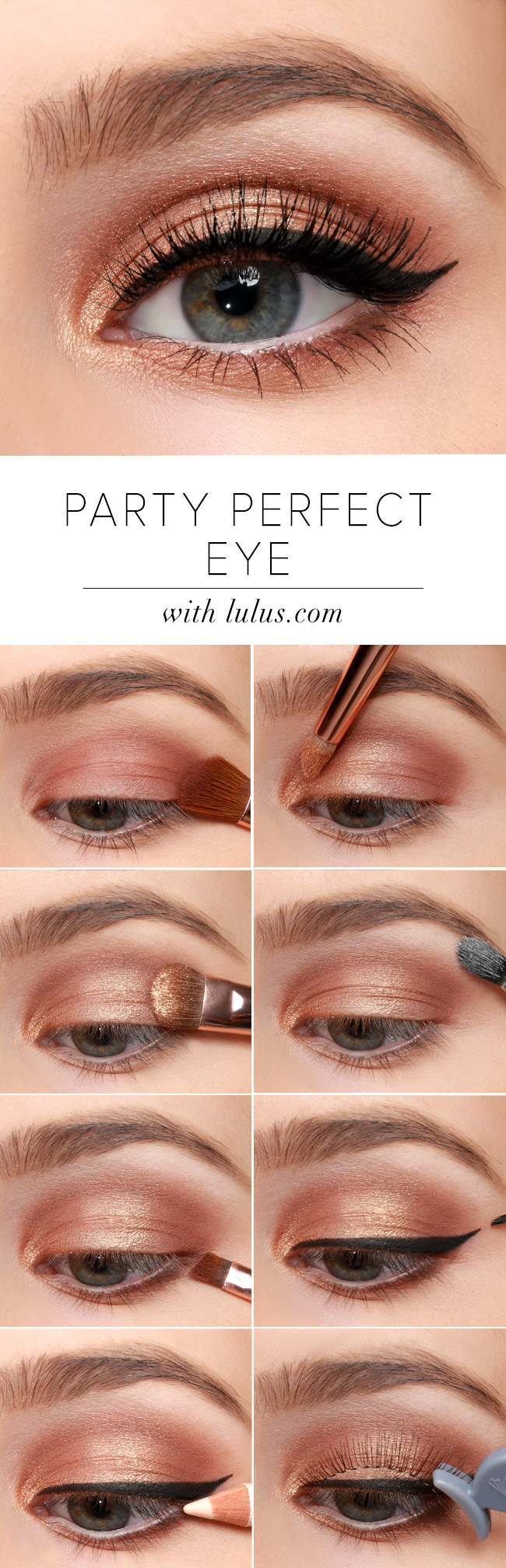 Lulus how to party perfect eye makeup tutorial lulus lulus how to party perfect eye makeup tutorial at lulus baditri Images