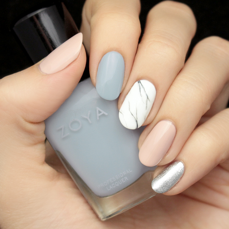 Mani Monday: Pastel Marble Nail Tutorial - Lulus.com Fashion Blog