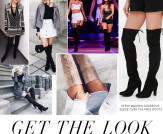 Get the Look: Suede Over the Knee Boots