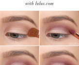 LuLu*s How-To: Mauve Matte Eye Tutorial