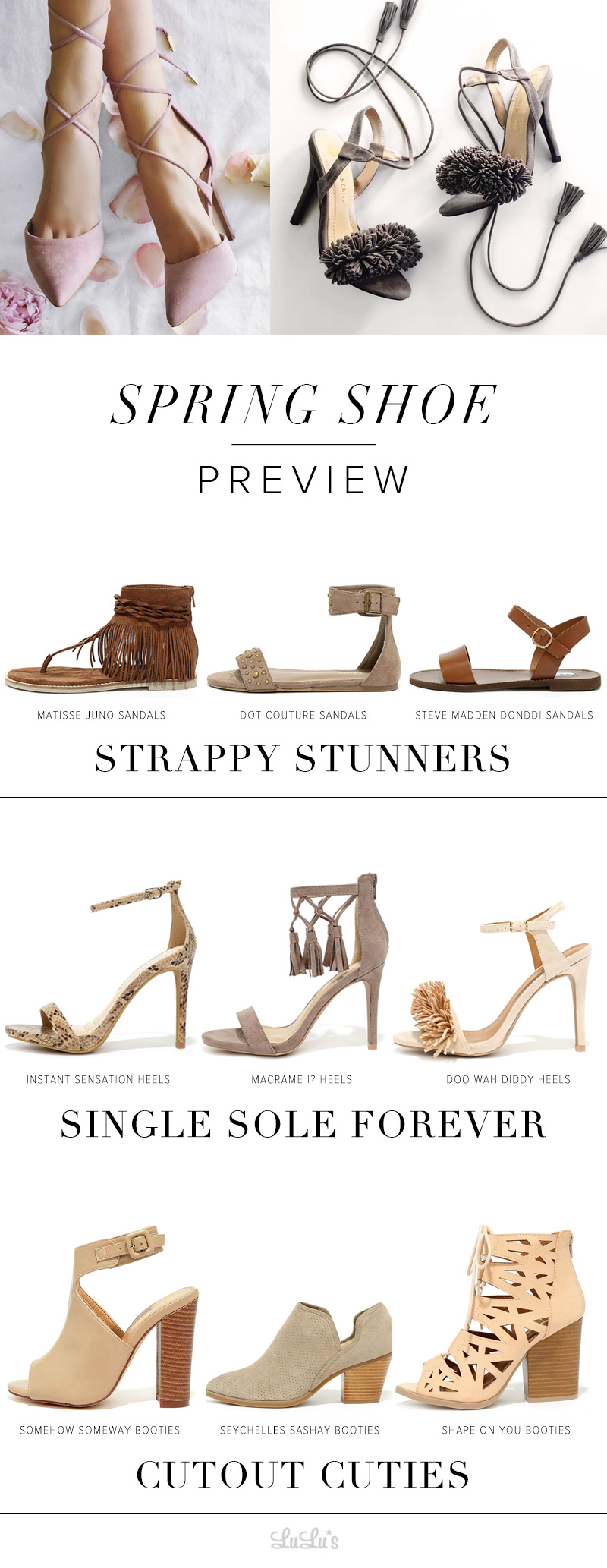 Spring Shoe Preview