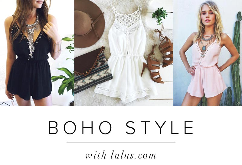 Boho Style Round Up Fashion Blog
