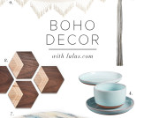 Boho Home Decor Round-Up