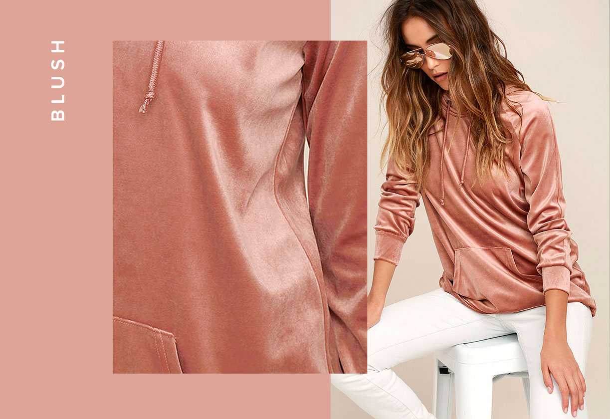 fall color trends - blush