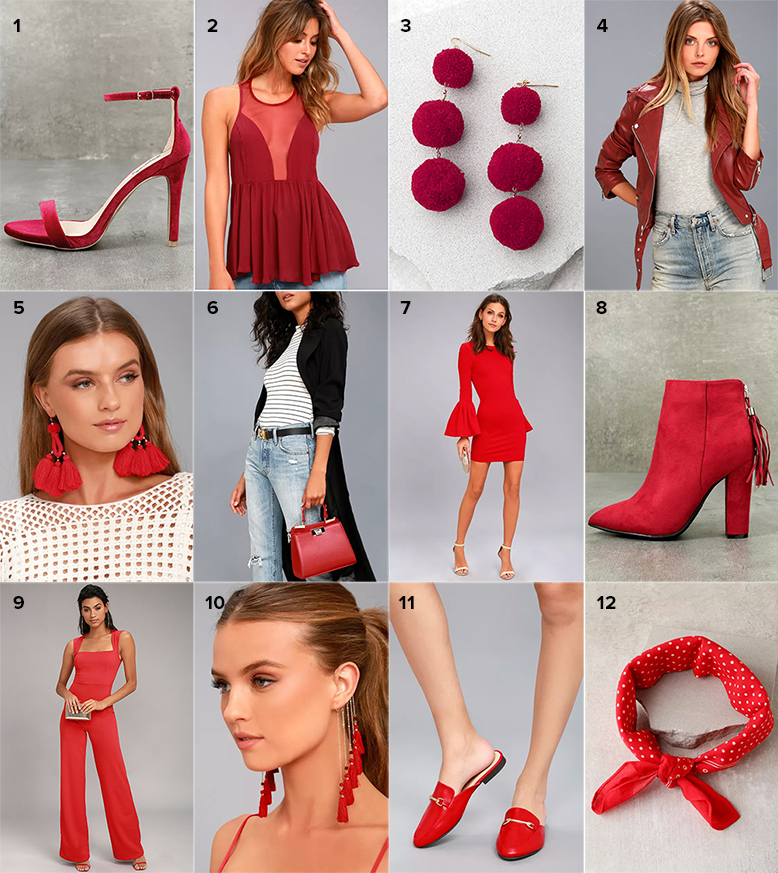 red items