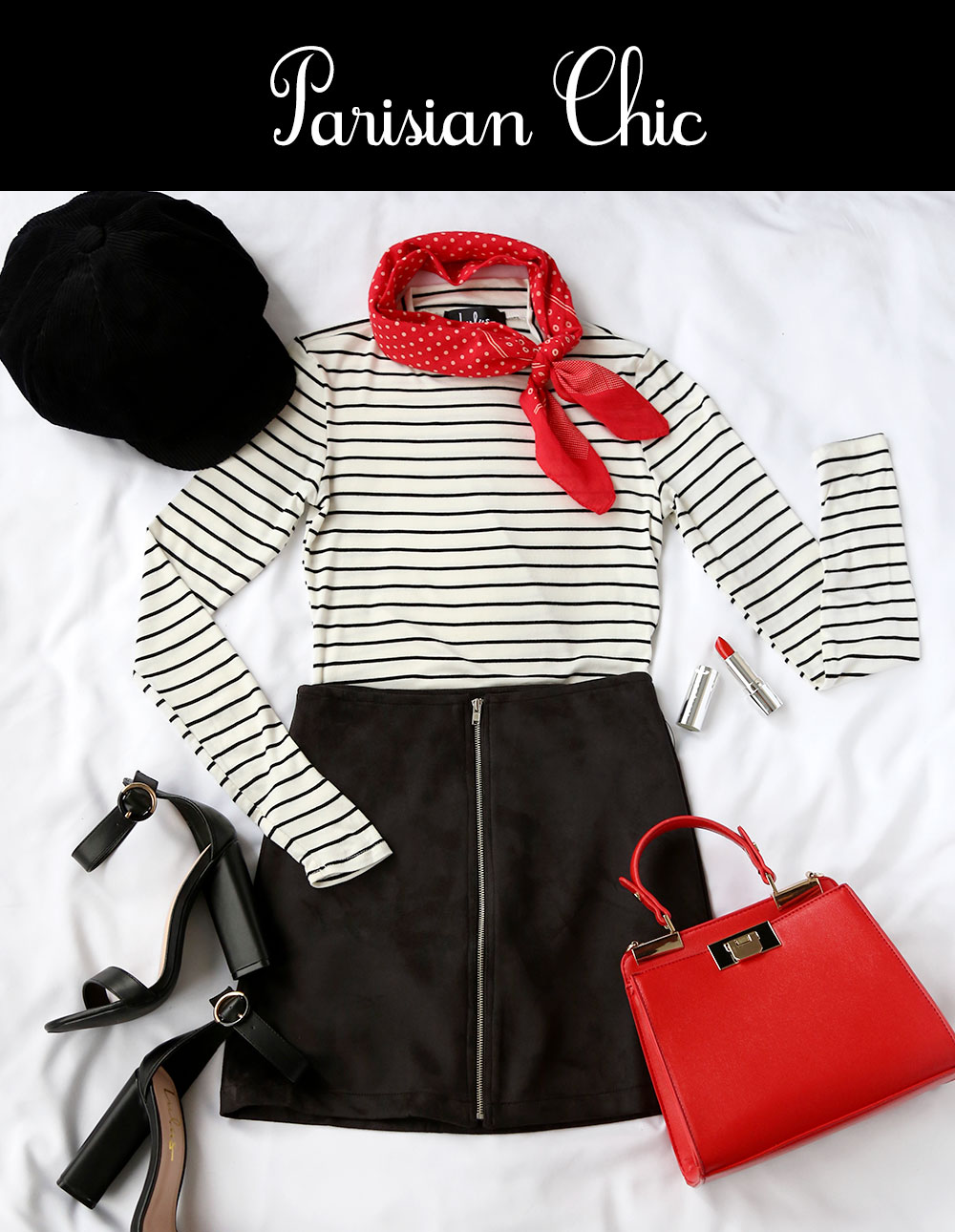 Halloween Costumes: Parisian Chic