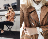 Must-Have Jacket for Fall: Suede with Love Moto