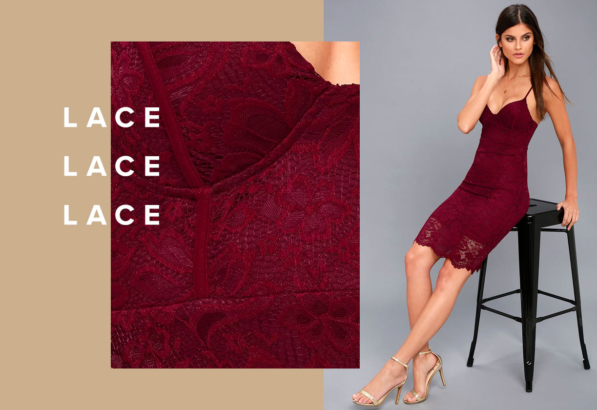 Holiday Textures - Lace