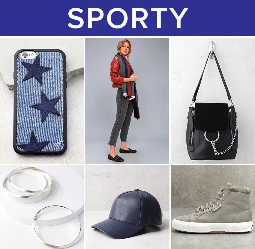 winter accessories - sporty