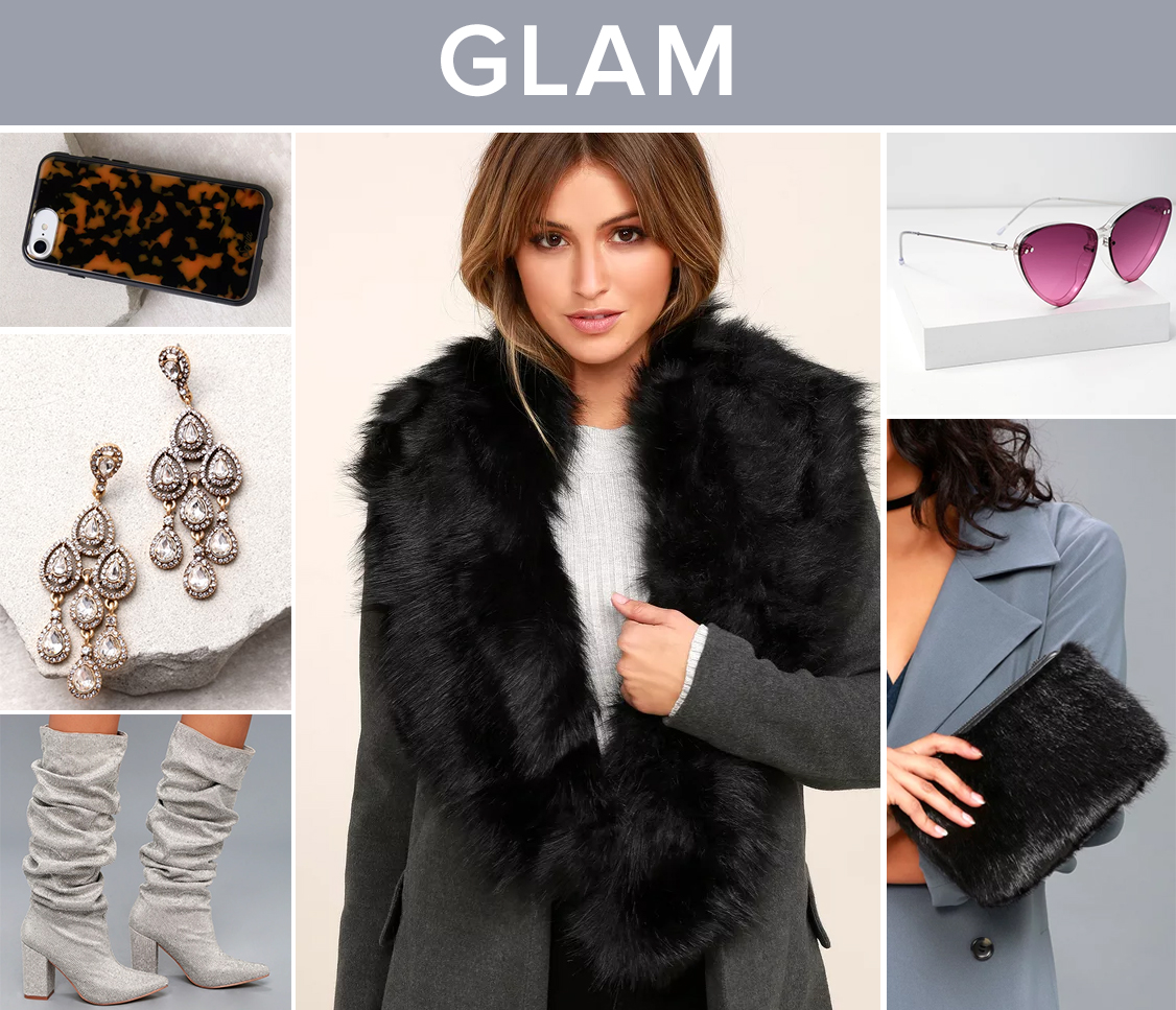 winter accessories - glam