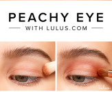 Peachy Eyeshadow Tutorial