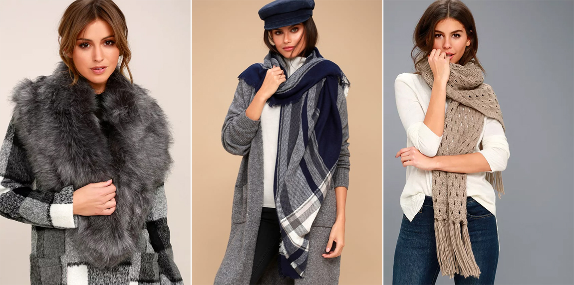 winter accessories - scarves