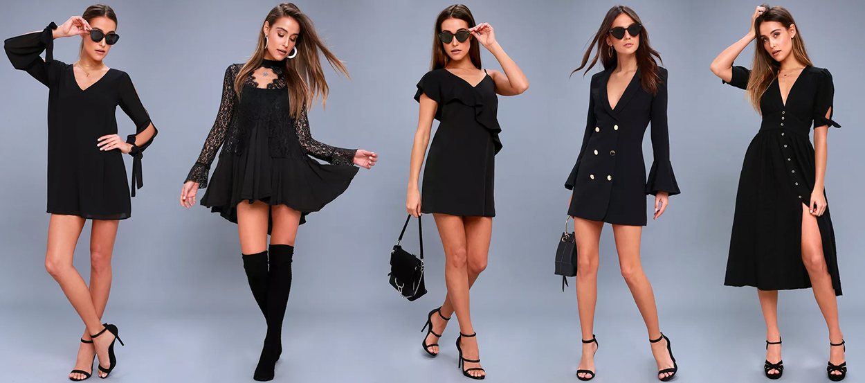 10 Little Black Dresses That Are Anything But Basic Lulus